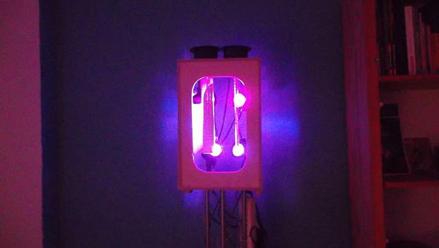 Selbstbau Lichteffekt Floyd Droid