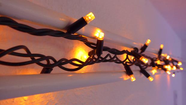 Test LED-Lichterkette